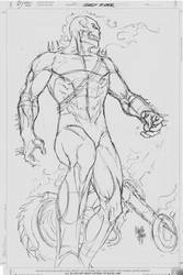 Sketch 01_Ghost Rider by MARCIOABREU7