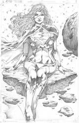 Supergirl Marcio Abreu by MARCIOABREU7