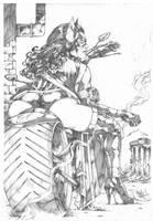 Huntress by MARCIOABREU7