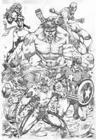 Avengers by MARCIOABREU7
