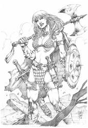 Red Sonja by MARCIOABREU7