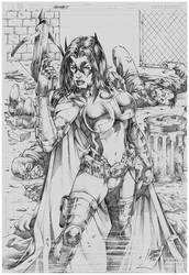 Huntress! by MARCIOABREU7