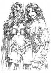 Huntress_ Wonder Woman by MARCIOABREU7