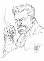 Sketch Logan -  Marcio Abreu by MARCIOABREU7