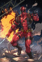 Deadpool Colors by MARCIOABREU7