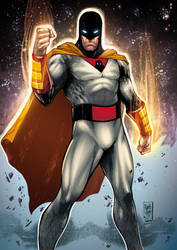 Space Ghost Colors by MARCIOABREU7