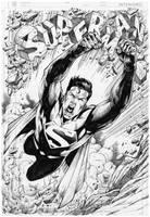 Commission Superman - Marcio Abreu by MARCIOABREU7