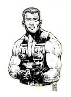 Arnold Schwarzenegger by MARCIOABREU7