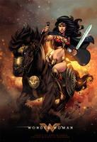 Wonder Woman - Colors by MARCIOABREU7