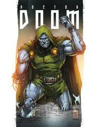Dr.Doom Colors by MARCIOABREU7