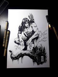 Tarzan - iNKTOBER 2018 by MARCIOABREU7