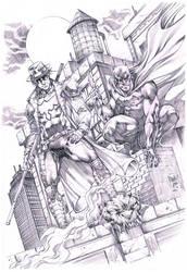 Commission Ronim / Batman by MARCIOABREU7