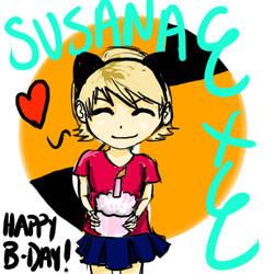 HAPPY BIRTHDAY by susanaEXE