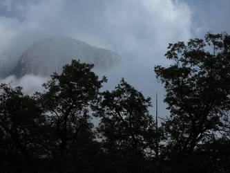 mountain in fog 4 by MagicoffMusic