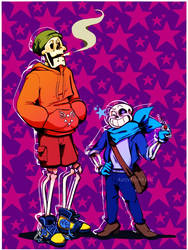 Underswap Bros by RosyPumpkin