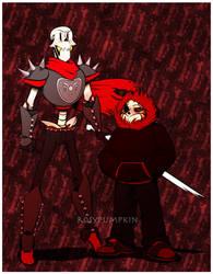 Underfell Bros by RosyPumpkin