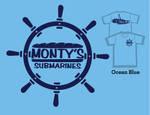 Monty's Navy Wheel by artjte