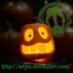 sm Pumpkin #1 by artjte