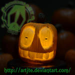 sm Pumpkin #5 by artjte