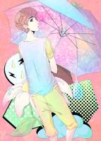 umbrella by harukatsune