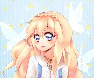 butterfly princess by harukatsune