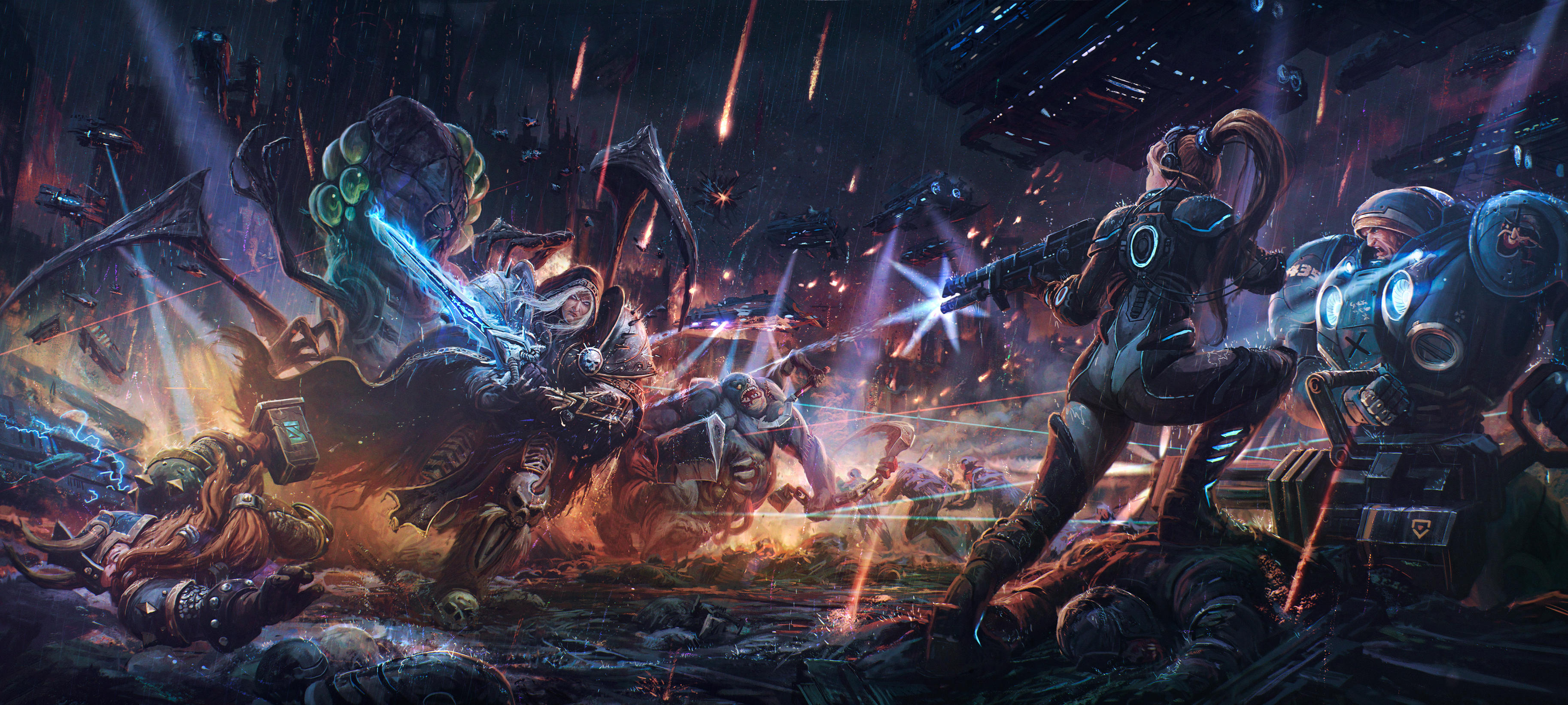 Heroes of the storm: Rhapsody by sswanderer