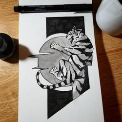 Rising Tiger by Dlarf