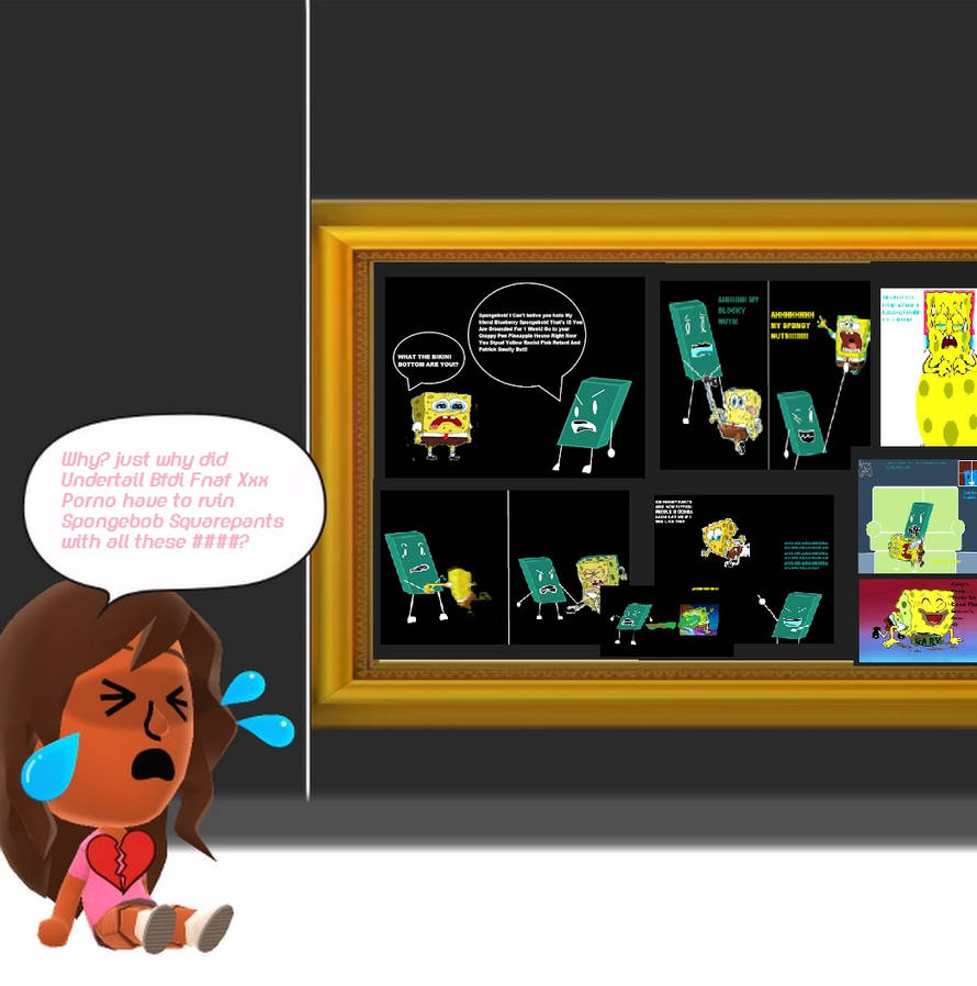 Dora crying about UBFXP's SB hate pictures by RhiannaPiano300