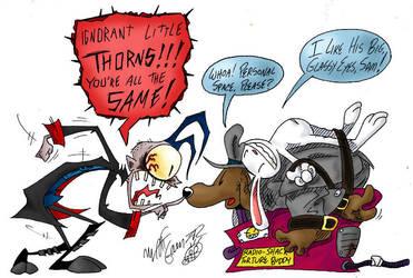 Sam and Max vs. JtHM by Das-Sketchenbuken