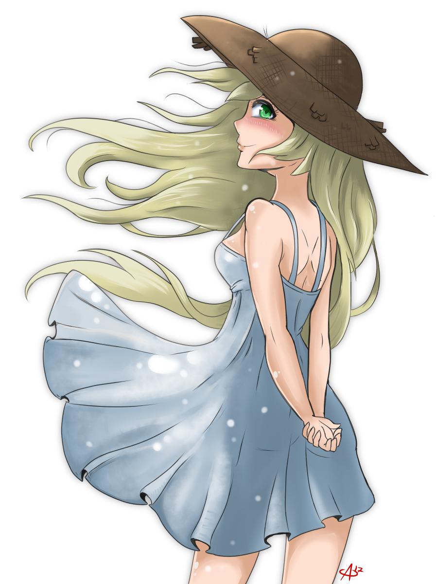 Sundress Girl by Aggrotard