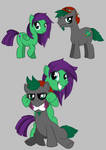 Art Ponies by Aggrotard