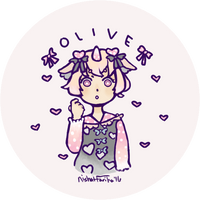 Commission Olive Button by nishicake