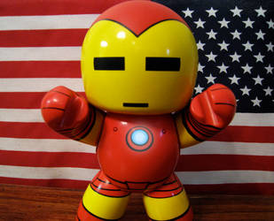 The Life Of Iron Man: Flag by KawaiiUsagiChanSan