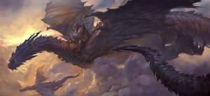 Dragonknight by Sketchshido