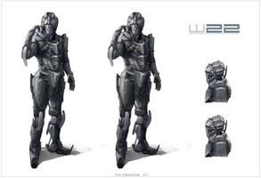 W22 Robot Design by Sketchshido