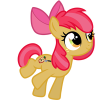 Apple Seed~Apple Bloom + Babs Seed (muffins)fusion by ShysWorld