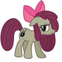 Minkie Bloom (Minkie Pie And Apple Bloom fusion) by ShysWorld