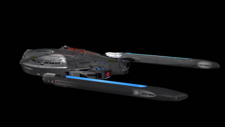 USS Beagle Interior Lighting, test 2 by harroldsheep