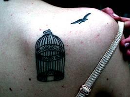 La cage cruelle de la vie by cherrytoast