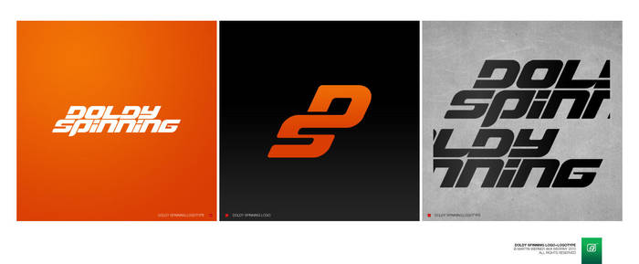 Doldy Spinning Logo+Logotype by Werrny