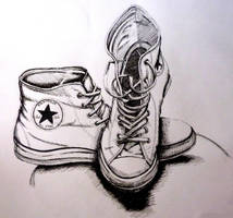 Chuck Taylors shoes by SophieHei