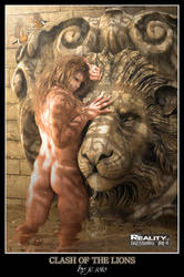 Clash of the Lions by HellboySoto