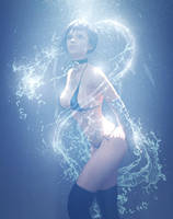 Blue Light by HellboySoto