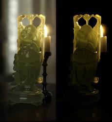 Happy Buddah by HellboySoto