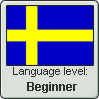 Swedish Language Level stamp2 by Faeth-design