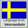 Swedish Language Level stamp3 by Faeth-design