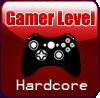 GAMER Hardcore STAMP by Faeth-design