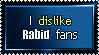 I dislike rabid fans by Faeth-design