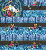 rockman exe axess 38 by ick25