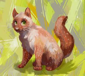 Eggcat! by LadyKleur